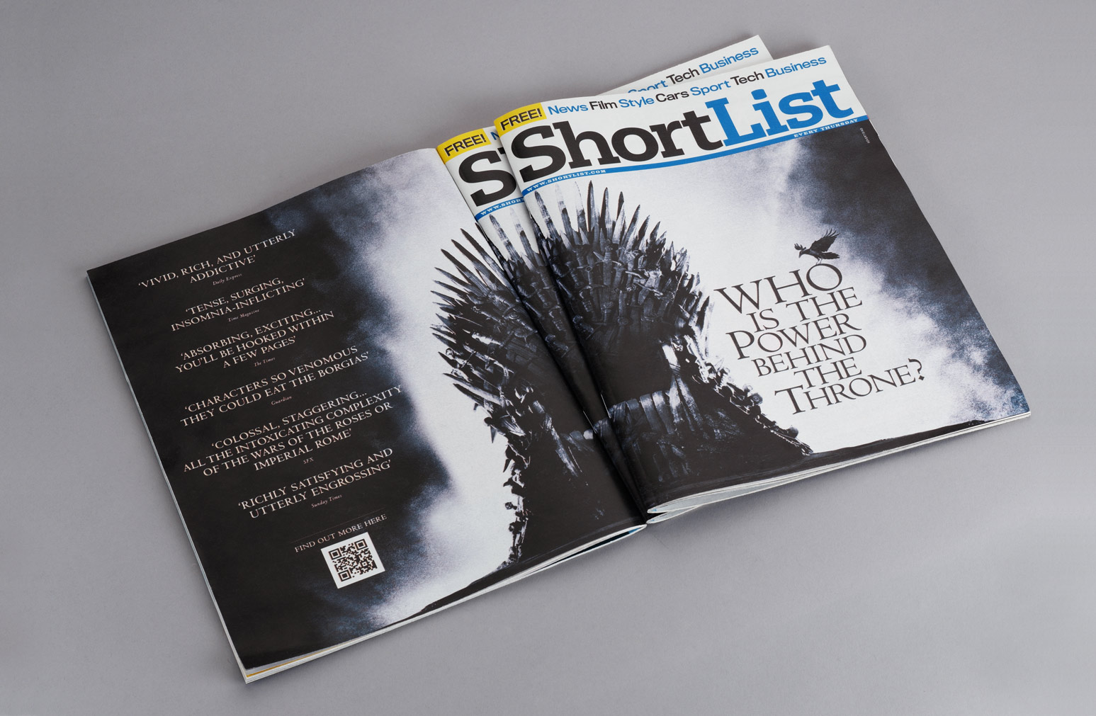 Game Of Thrones Shortlist Cover One Darnley Road 03
