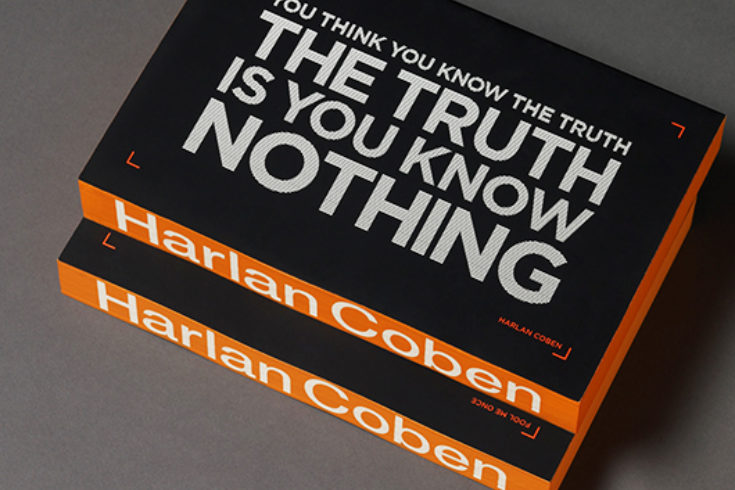 Penguin Random House Harlan Coben Fool Me Once Outdoor Advertising Campaign One Darnley Road Thumbnail