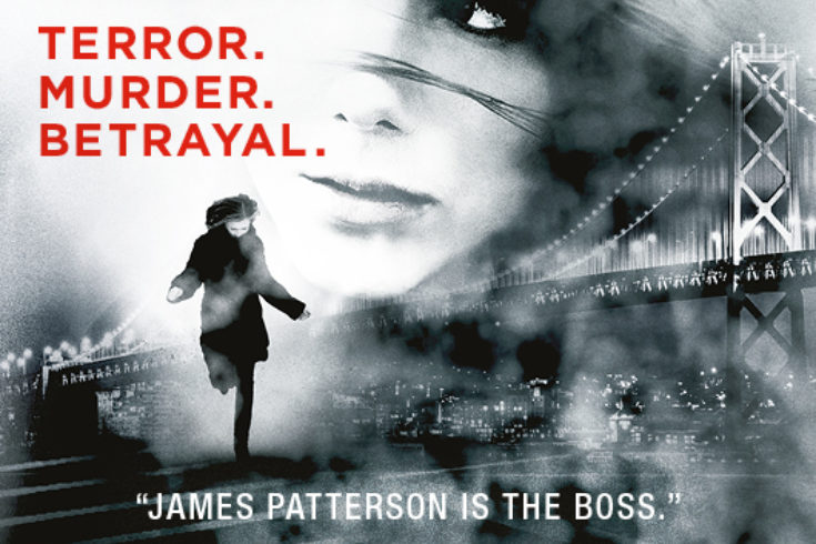 James Patterson Outdoor Advertising Ooh 16Th Seduction Penguin Random House Underground Tube Advertising Thumbnail
