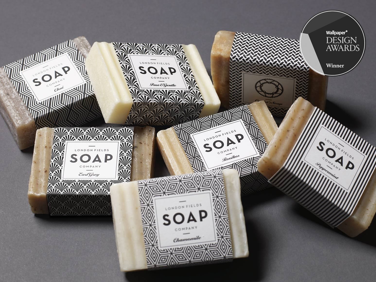 London fields soap company one darnley road branding for Top product design firms