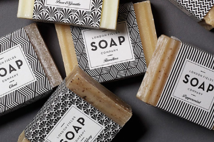 London Fields Soap Company Brand Packaging One Darnley Road