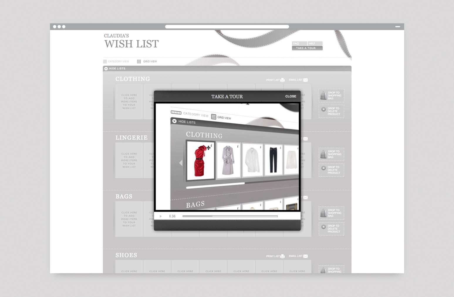 72338b8aa0a0 Net A Porter Website Design One Darnley Road 2