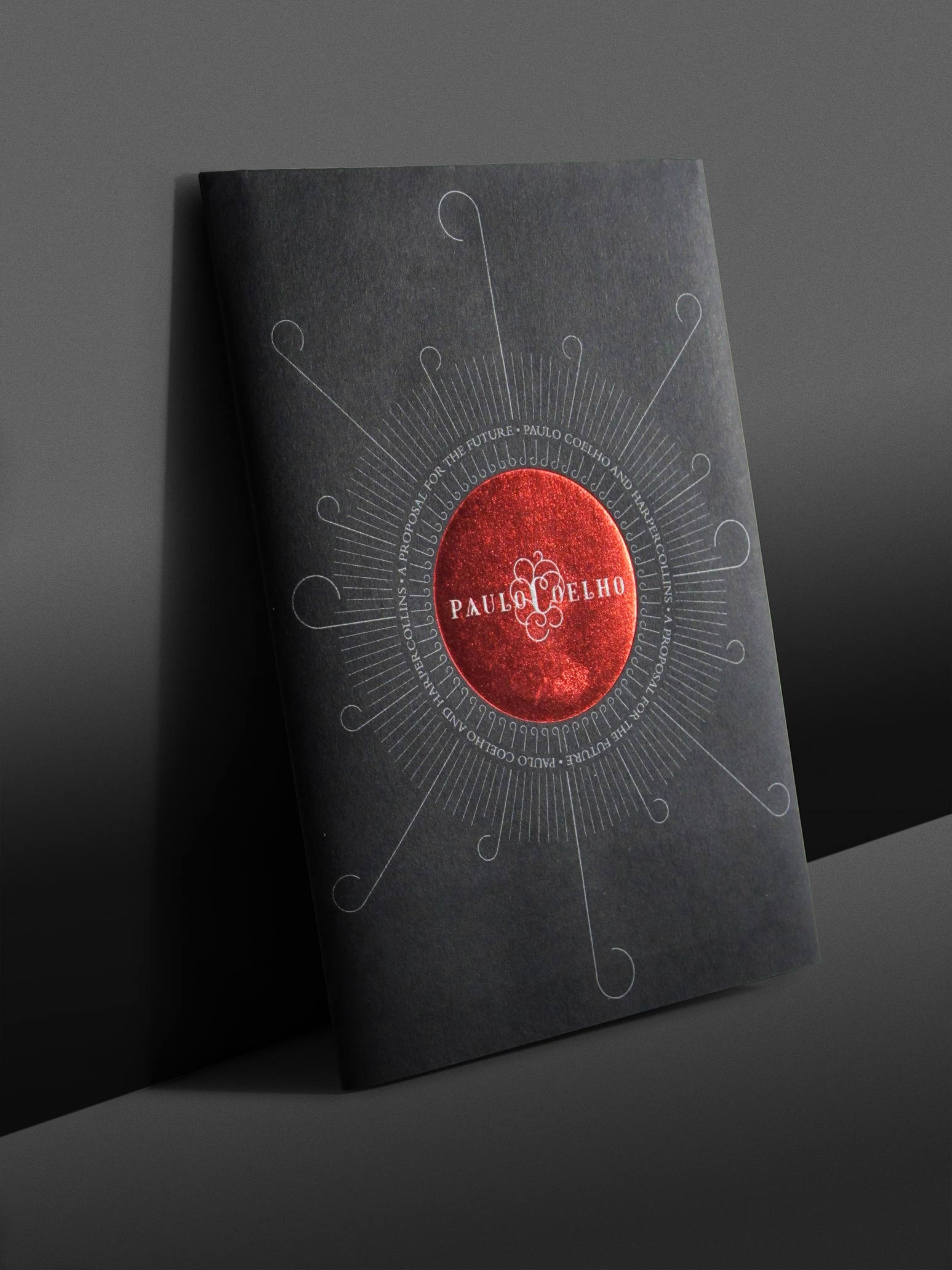 Paulo Coelho Harpercollins Promotional Collateral Foil Block 1